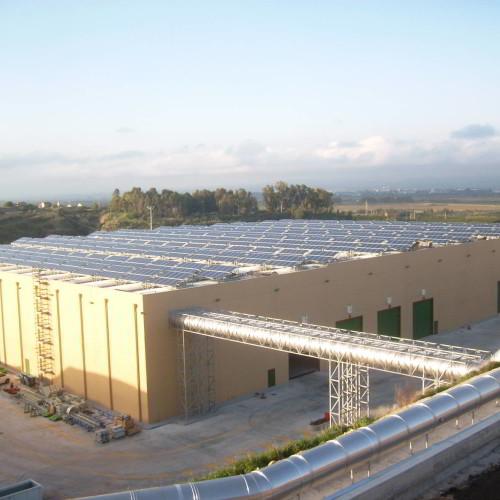 PHOTOVOLTAIC PLANT (POWER:  414 kW)