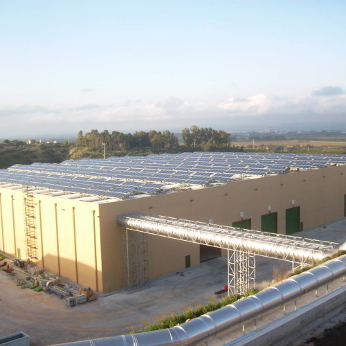 PHOTOVOLTAIC PLANT (POWER:  414 kW)