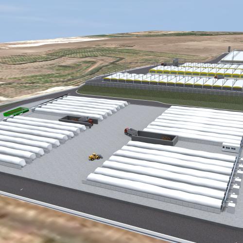 Biostabilization plant enlargement – Codavolpe (CT) – Italy