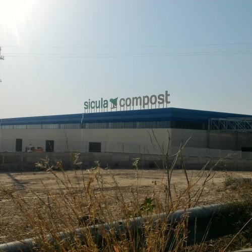 """Lavori di costruzione dell'impianto di compostaggio """"Sicula Compost"""""""