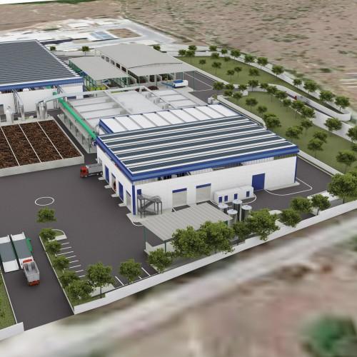 Impianto di produzione di Compost di qualità –  C.da Santa Catrina (SR)