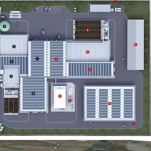 Impianto per il trattamento di FORSU e RUR in configurazione Stand Alone